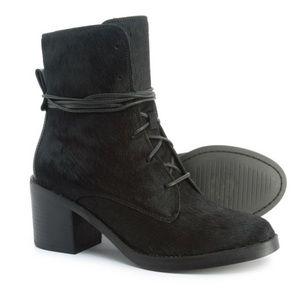 UGG Oriana Exotic Genuine CalfHair Block Heel Boot